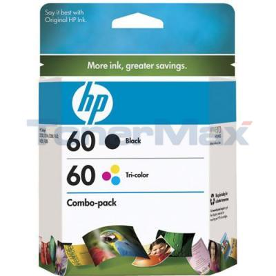 HP DESKJET D2530 NO 60 INK BLACK/TRICOLOR